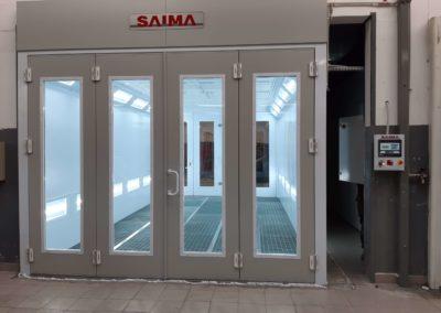 Kabina lakiernicza Saima przelotowa