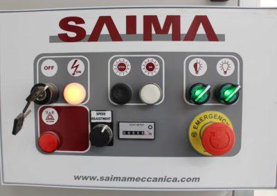 Panel sterowania alfanumeryczny w kabinie lakierniczej