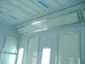 Panele endotermiczne w kabinie lakierniczej