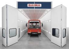 Przemysłowa kabina lakiernicza SAIMA