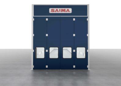 Przemysłowa kabina lakiernicza SAIMA GRANDI