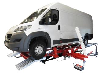 Rama naprawcza do aut dostawczych PowerProXXL