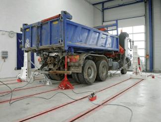 Rama naprawcza w posadzce korek HD do ciężarówek Blackhawk