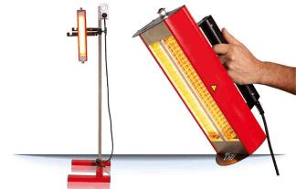promienniki lakiernicze IRT 1 i 2 prepcure do lakierni