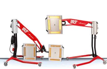promienniki lakiernicze IRT 4-1 i 4-2 PC auto do lakierni