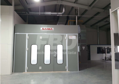 Kabina lakiernicza SAIMA Beta
