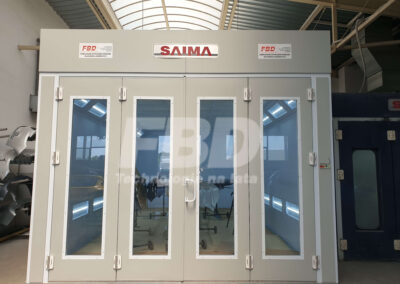 Kabina lakiernicza SAIMA drzwi Krystal