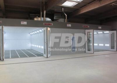 Kabiny lakiernicze dla motoryzacji