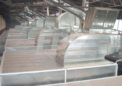 Montaż wielkogabarytowej kabiny lakierniczej SAIMA dla przemysłu