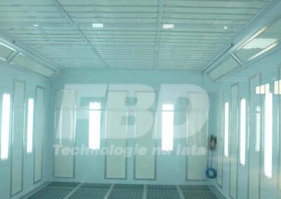 Panele endotermiczne SAIMA do kabiny lakierniczej przemysłowej
