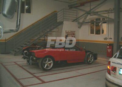 Podłogowa rama naprawcza Korek do samochodu Ferrari