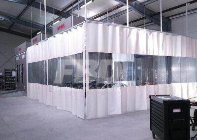 Strefy przygotowawcze SAIMA w serwisie blacharsko-lakierniczym