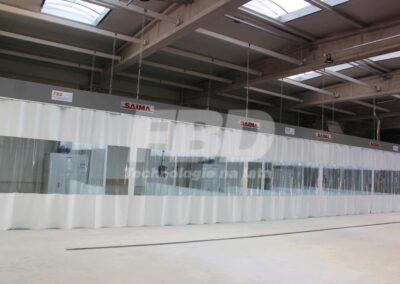 Wyposażenie lakierni, strefy przygotowawcze SAIMA