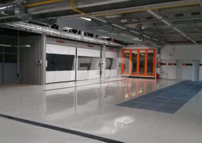 Wyposażenie lakierni strefy przygotowawcze i instalacja REVO