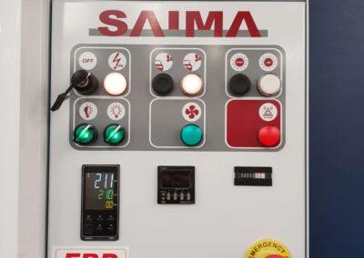 Panel sterowania kabiny lakierniczej Saima Meccanica